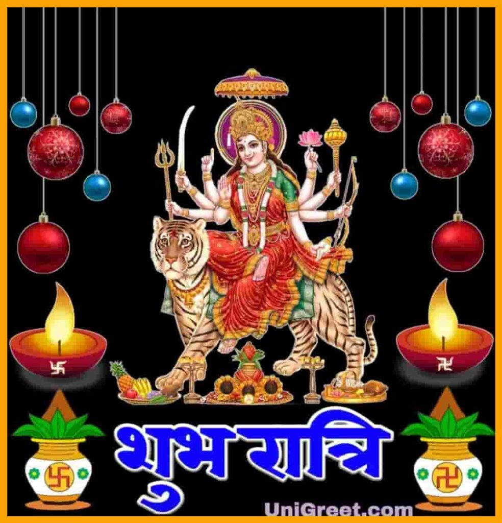 Good night Durga mata pic for navratri good night