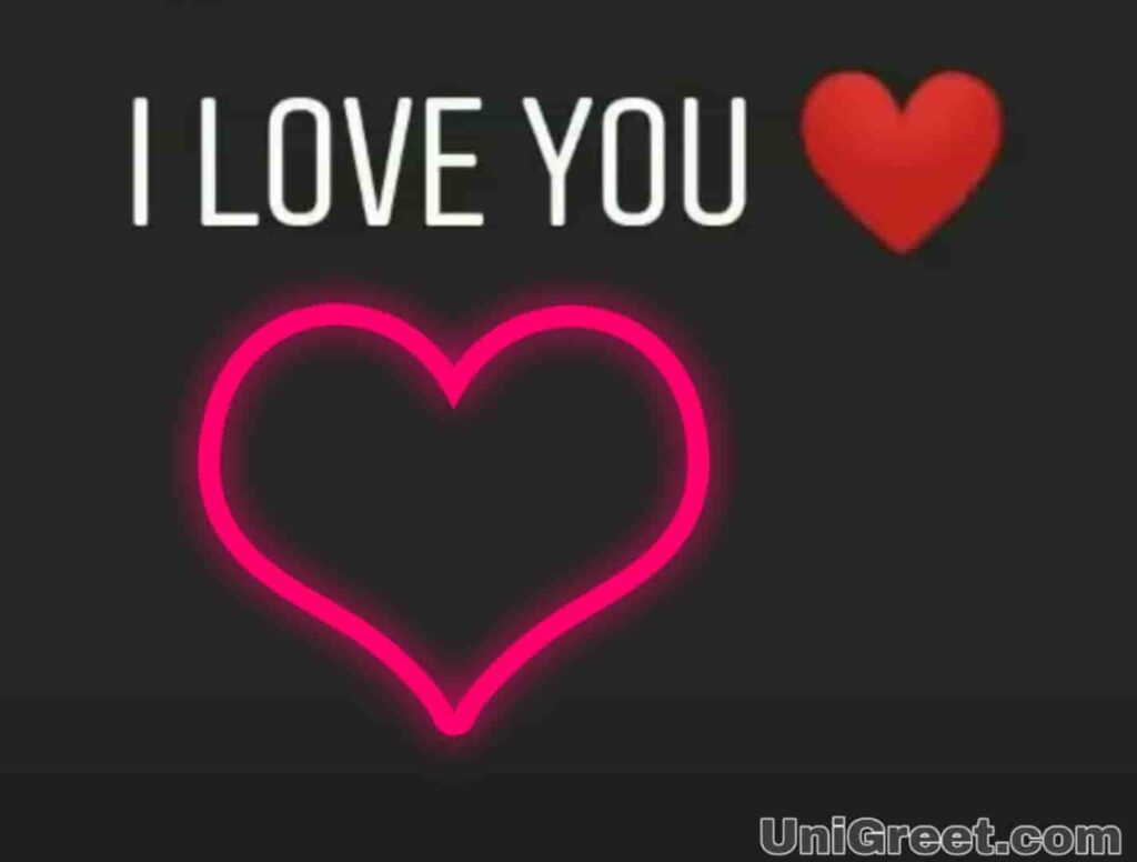 I love you WhatsApp status image download