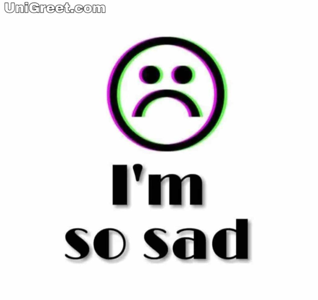 I am sad whatsApp profile picture download