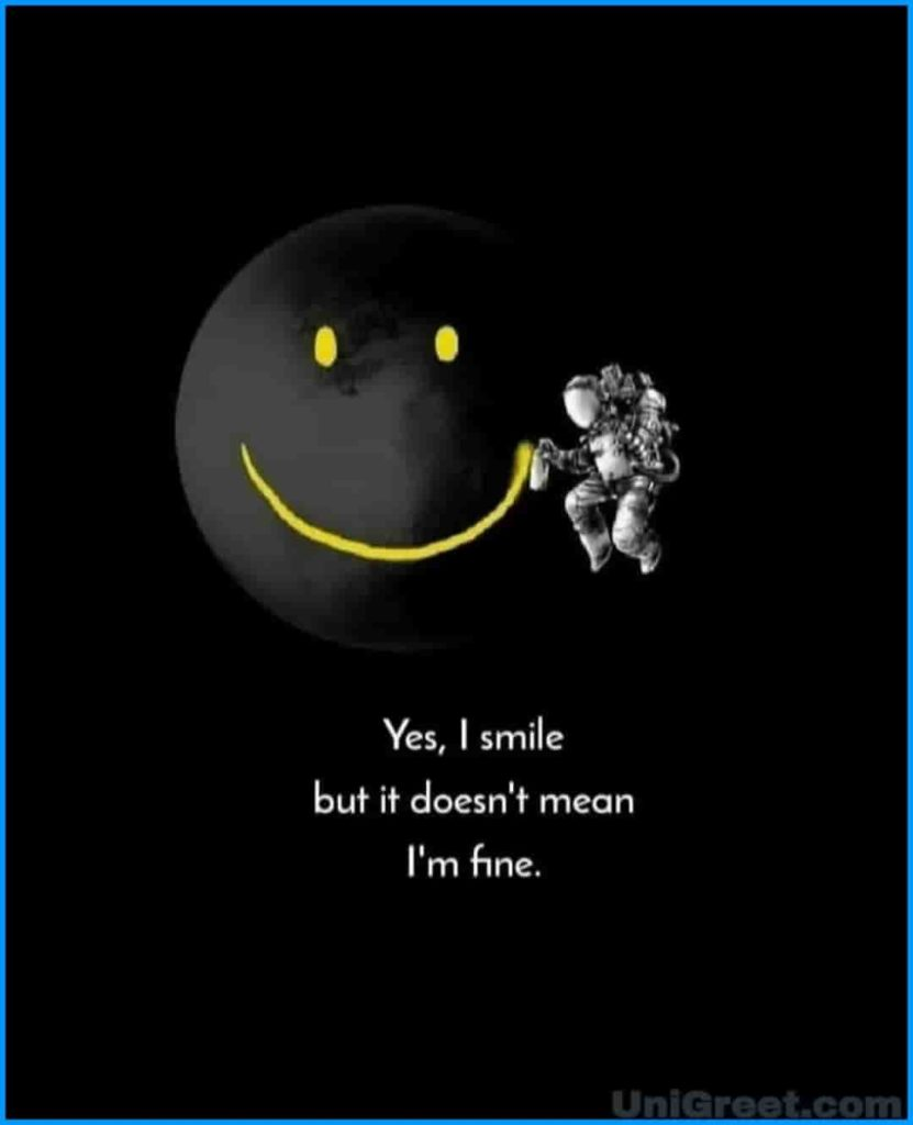 Sad Smiley's dp