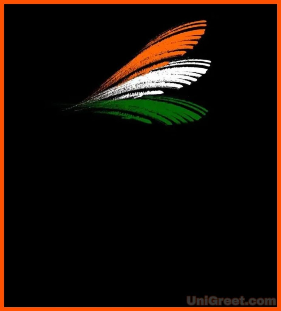 Tiranga background for banner editing