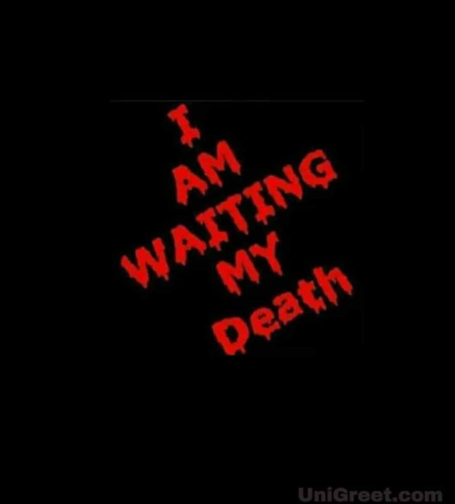 Death dp pic for whatsApp | very sad dp download
