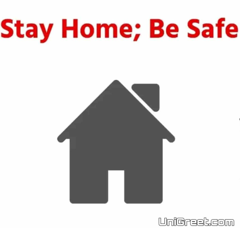 stay home be safe images quotes for Coronavirus