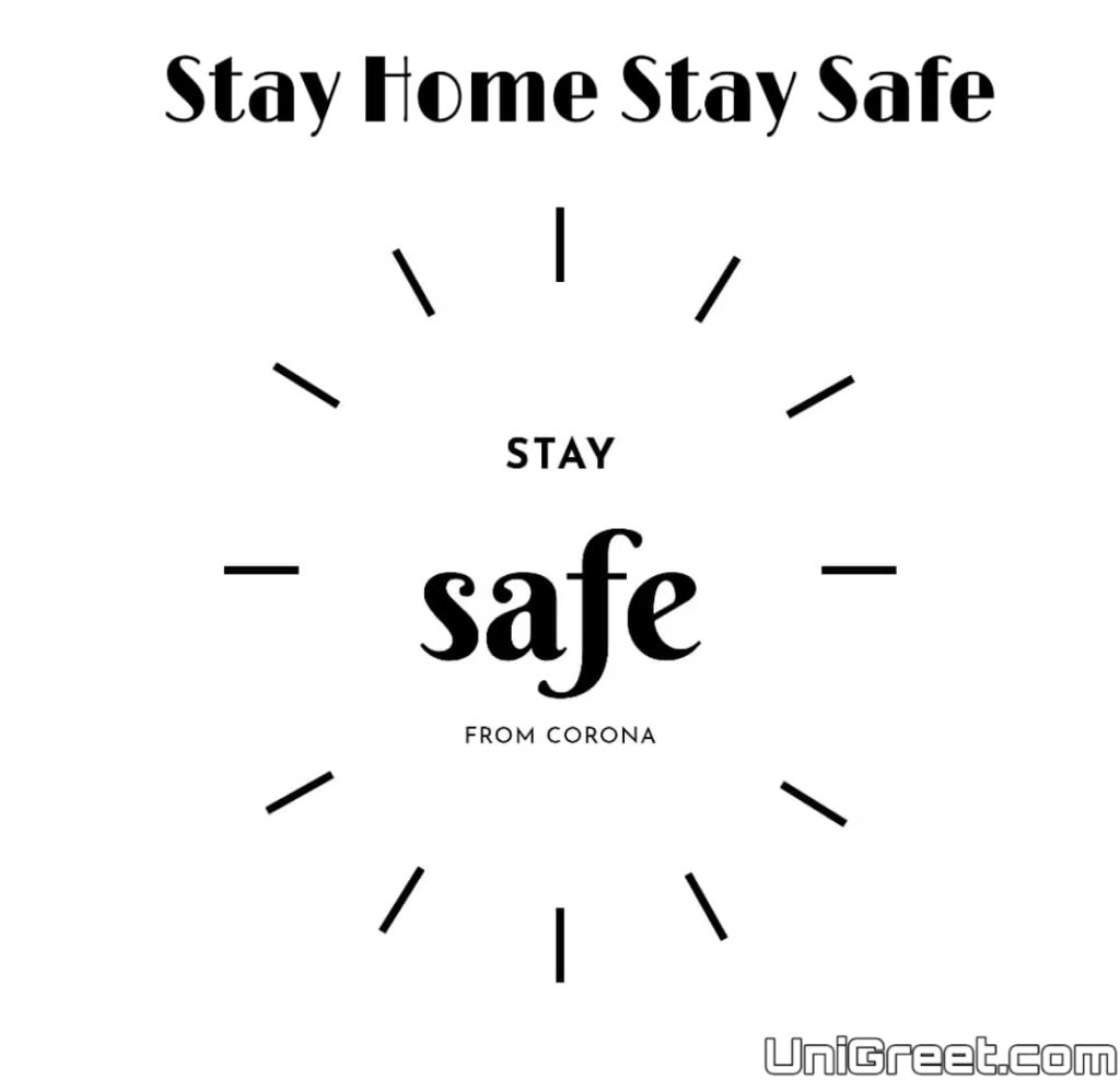 Download stay home stay safe whatsapp dp profile pic