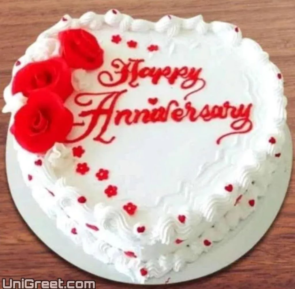 Cake pic for Happy anniversary