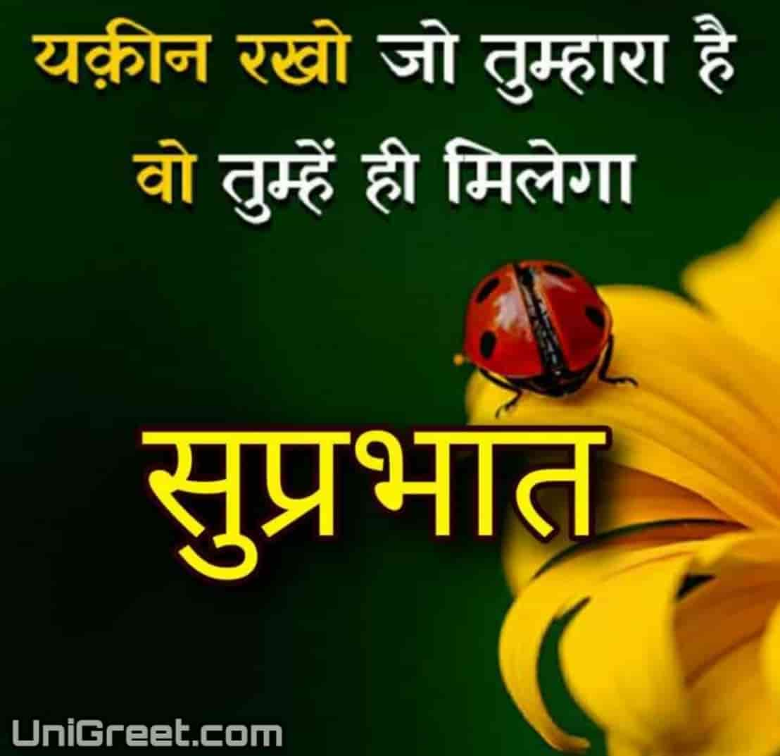 100+ Best Hindi Good Morning Images Quotes For Whatsapp ...