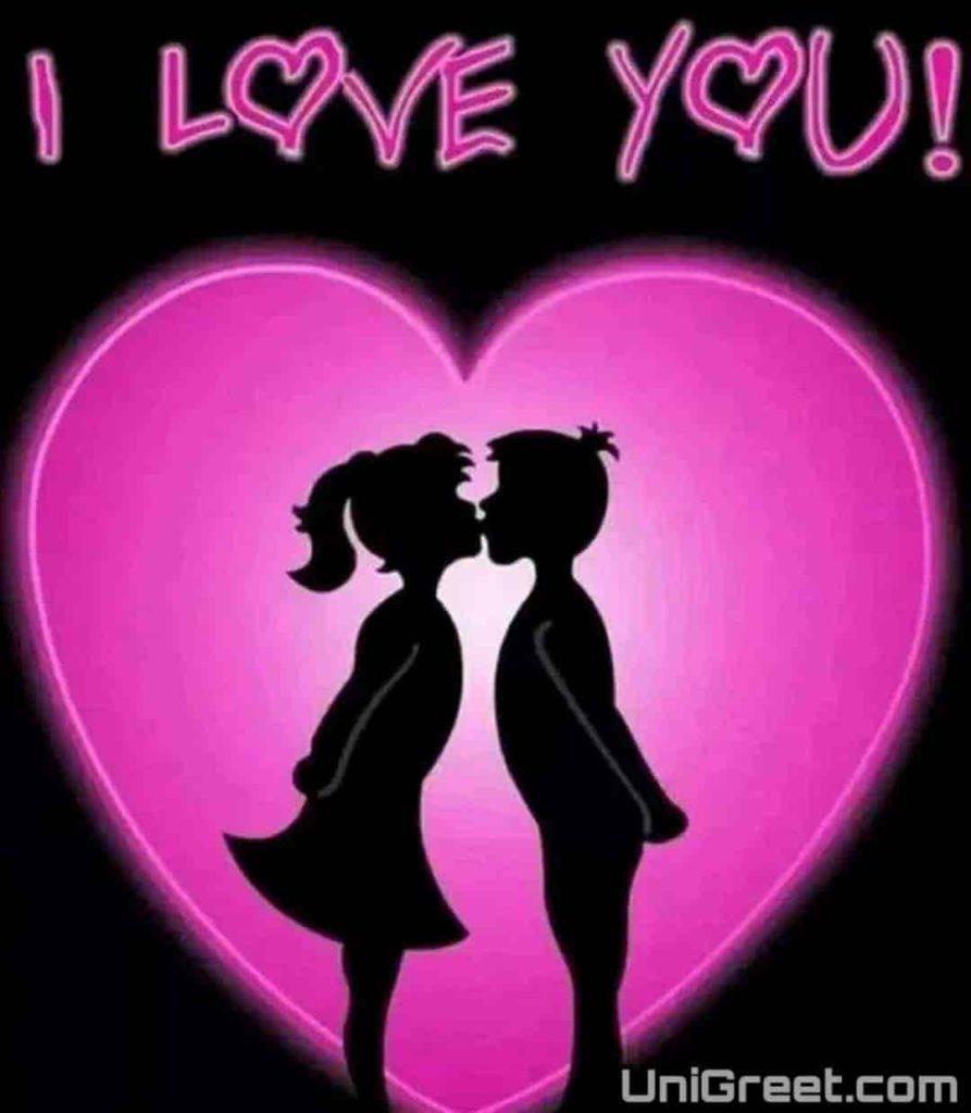 Beautiful I love you Whatsapp dp