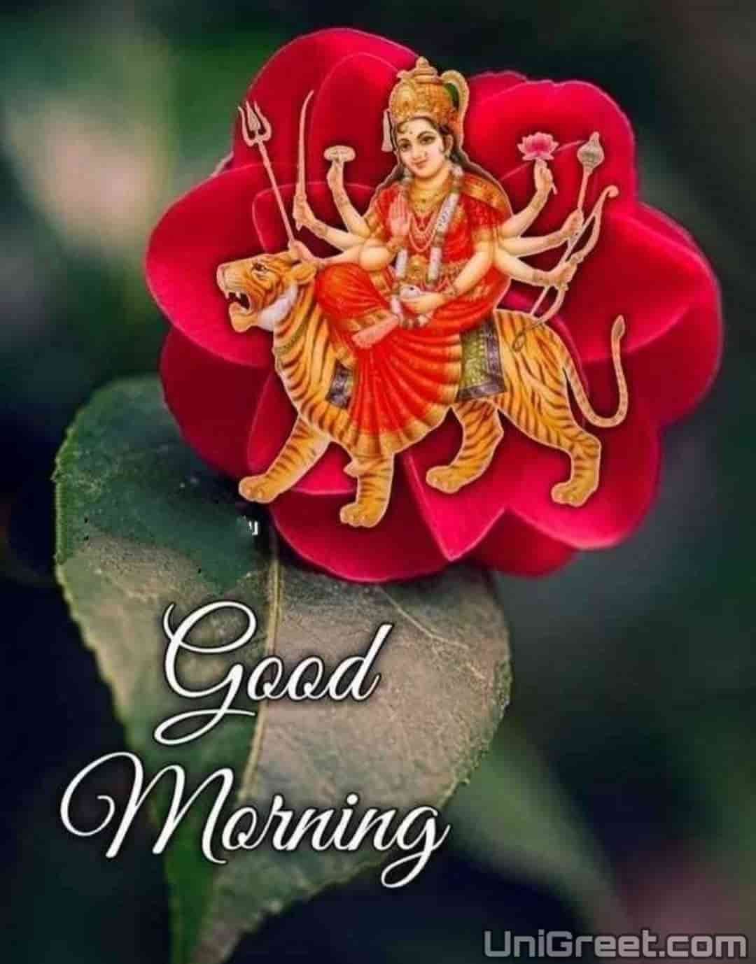 Good morning durga mata