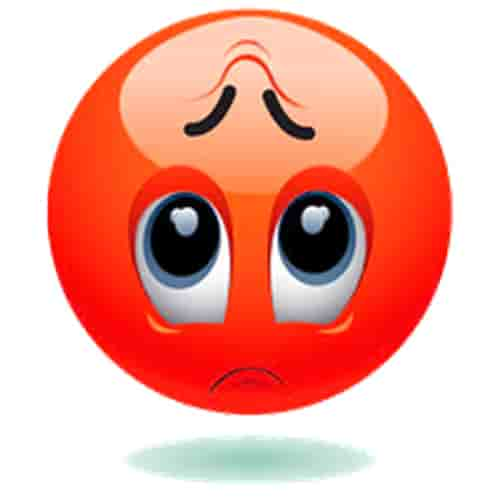 Sadness emoji