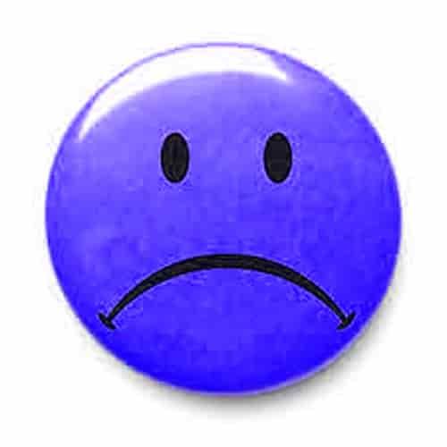 Sad symbol