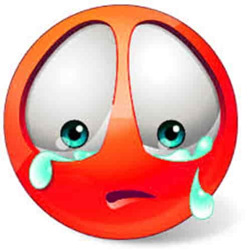 WhatsApp sad emoji photo download dp profile pic