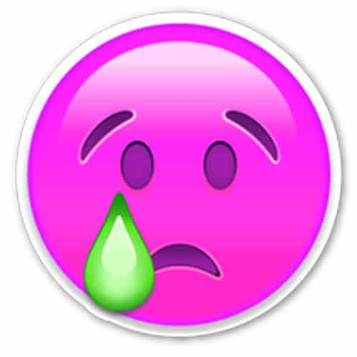 Sad emoji dp profile picture for WhatsApp
