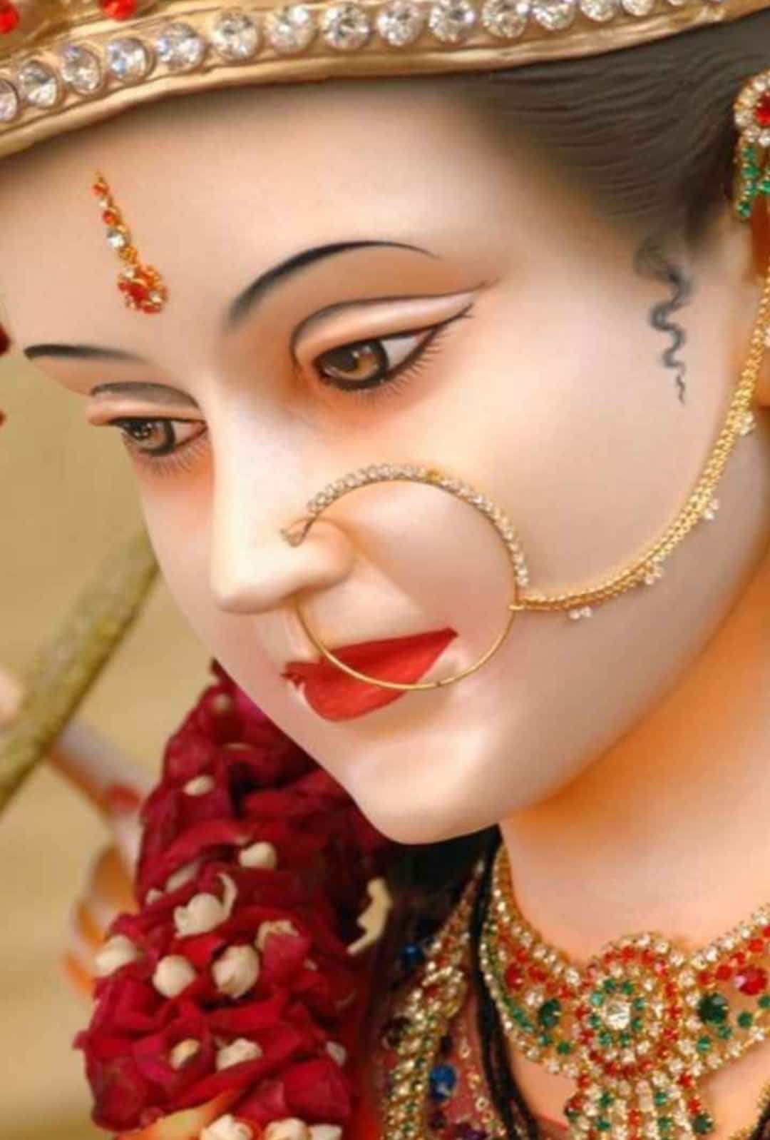 maa durga face images for whatsapp dp