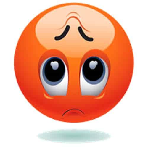 34 Very Sad Emoji Whatsapp Dp Images Sad Dp Emoji Pics ...