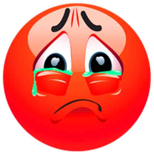 Very sad dp emoy pic download