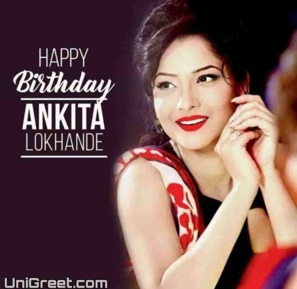 ankita lokhande birthday photos