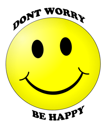 Dont worry be happy smiley dp pic