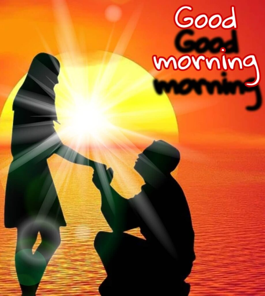 good morning boy and girl love image