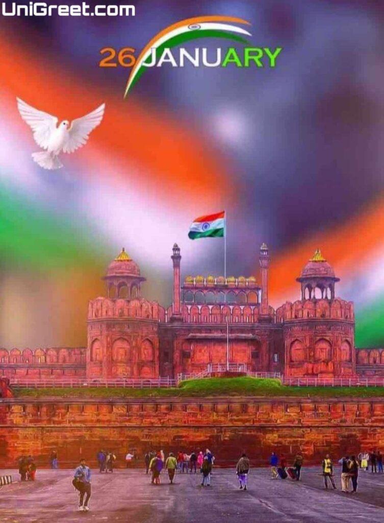 26 january banner background marathi
