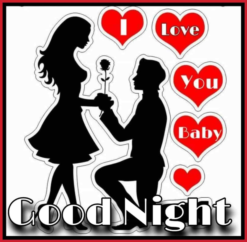i love you baby good night photo