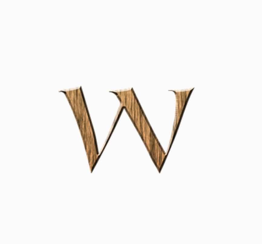 W word / letter / alphabet dp download