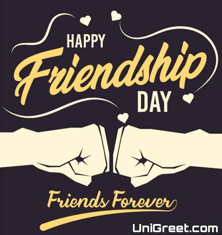 happy friendship day friends forever
