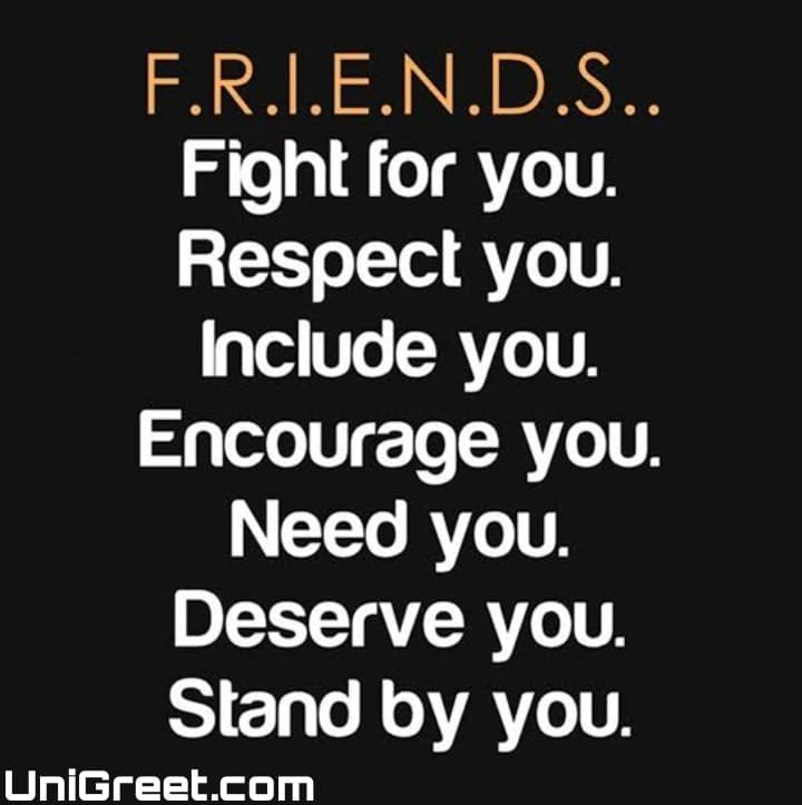 friends meaning dp